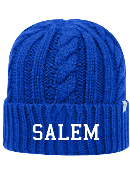 Embroidered Salem TW5003 Adult Unisex Empire Knit Cap
