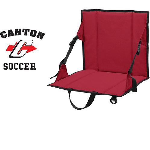 Canton Soccer Embroidered BG601 Stadium Seat