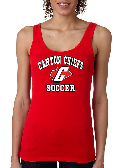 Canton Soccer 3533 Ladies Spandex Jersey Tank