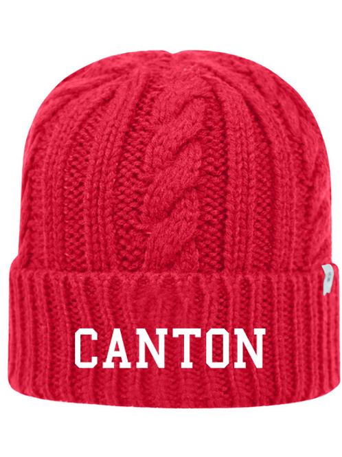 Embroidered Canton TW5003 Adult Unisex Empire Knit Cap