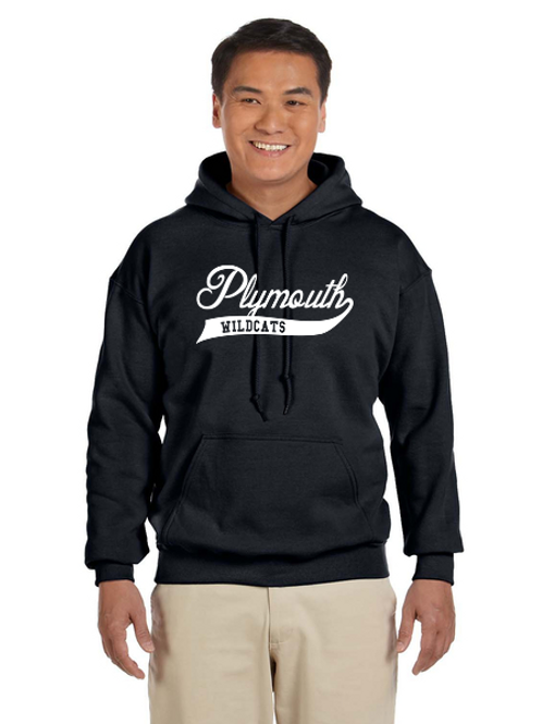 Plymouth Glitter G185 Adult Heavy Blend 50/50 Hoodie
