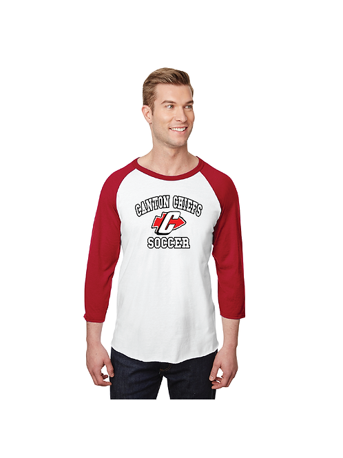 560RR Jerzees Raglan Baseball Shirt (SOC)
