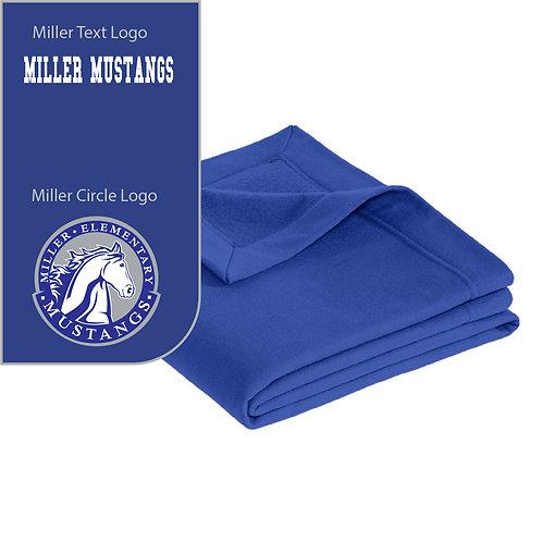 Miller Mustangs 12900 Blanket