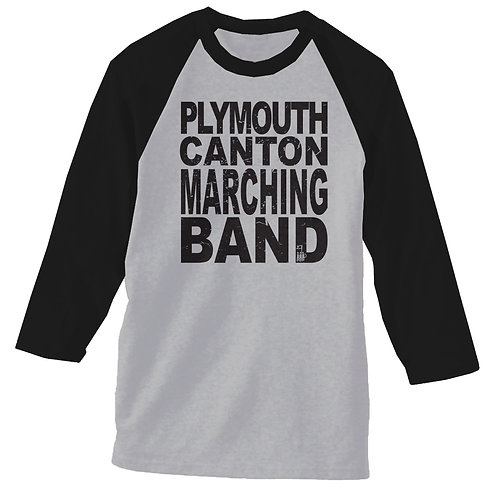 2017 Marching Band Baseball T shirt