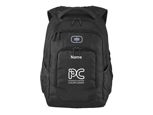 Embroidered Plymouth Canton Color Guard 411092 Backpack