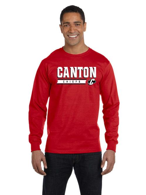 Canton G840 Adult 50/50 Long-Sleeve T-Shirt