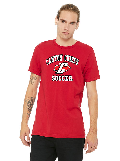 Canton Soccer 3001C Unisex Jersey T-Shirt