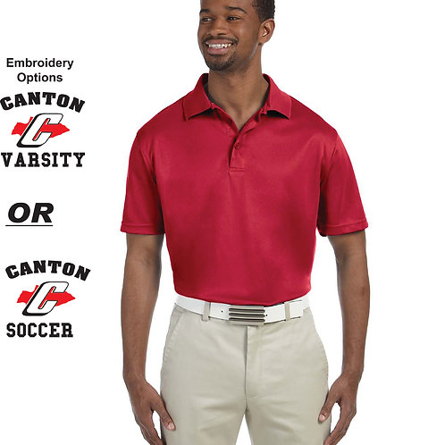 Canton Soccer Embroidered M315 Men's Polo