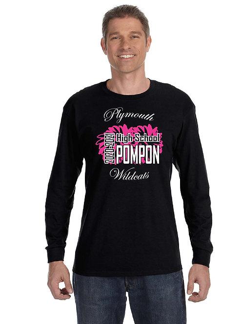 Plymouth High School Pom G540 Long-Sleeve T-Shirt