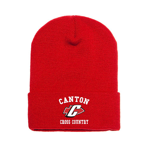 Embroidered Canton Girl's Cross Country 1501 Knit Beanie
