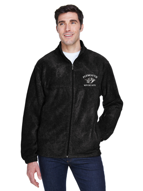 Embroidered Plymouth M990 Men's Full-Zip Fleece