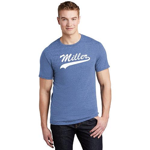Printed Miller 88M Snow Heather T-Shirt