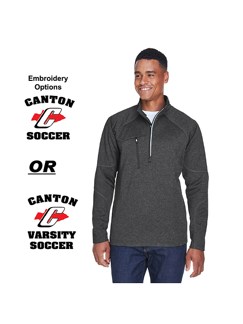 Canton Soccer Embroidered 88175 Fleece Quarter-Zip (SOC)