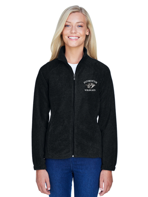 Embroidered Plymouth M990W Ladies' 8 oz. Full-Zip Fleece