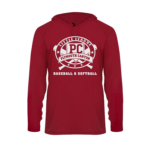PCLL T-BALL TEAM 410500 Adult B-Core Hoodie