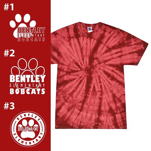 Bentley Bobcats CD101Y Youth Tie-Dye T-Shirt