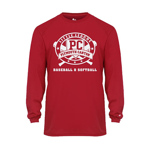 PCLL T-BALL TEAM 210400 Youth B-Core Long-Sleeve Tee