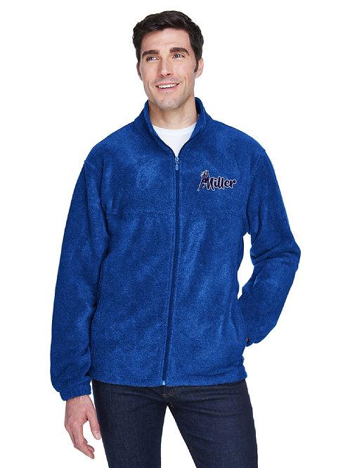 Embroidered Miller M990/M990Y Full-Zip Fleece