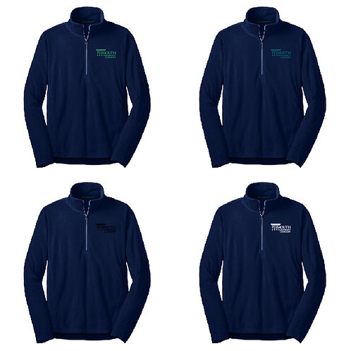 Plymouth Library L224 Women's Microfleece 1/2-Zip Pullover