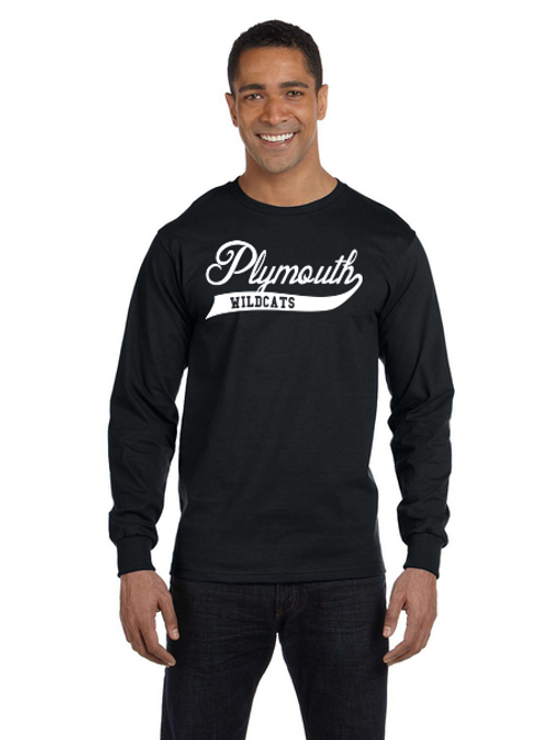 Plymouth Glitter G840 Adult 50/50 Long-Sleeve T-Shirt