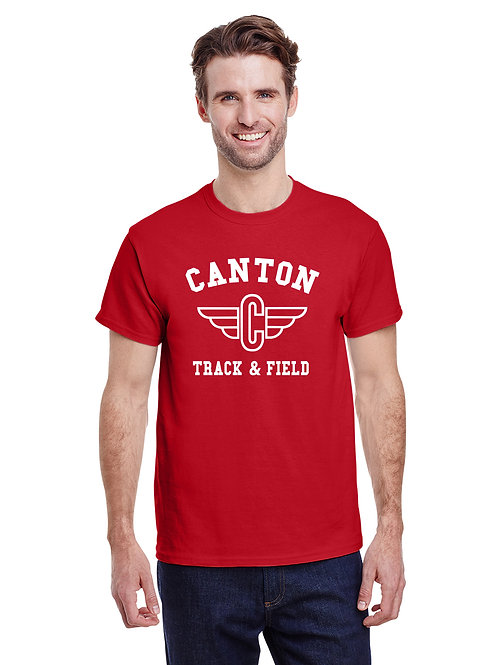 Canton Track G800 Adult 50/50 T-Shirt