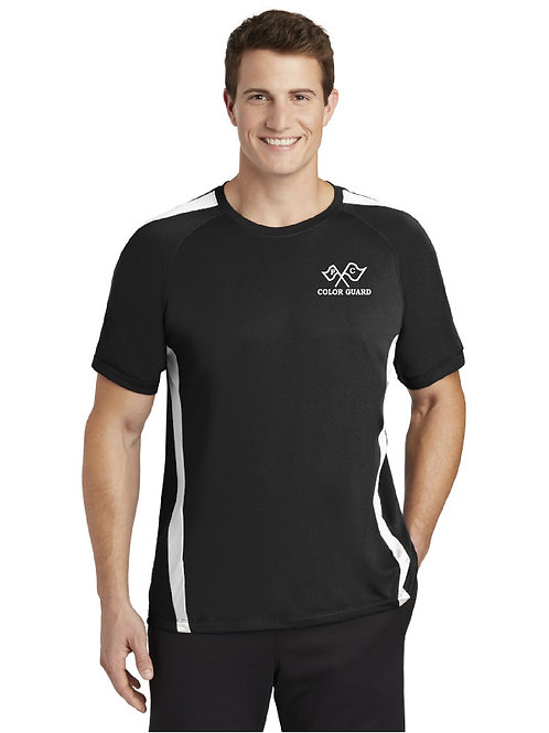 Embroidered Plymouth Canton Color Guard ST351 Member T-Shirt