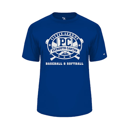PCLL SOFTBALL TEAM 212000 Youth B-Core Tee