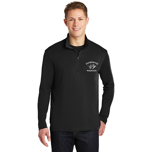 Embroidered Plymouth ST357 1/4-Zip Pullover