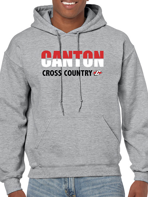 G185 Canton Boy's Cross Country Adult Heavy Blend 50/50 Hoodie