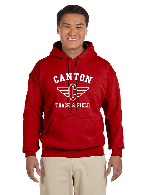 Canton Track G185 Adult Heavy Blend 50/50 Hoodie