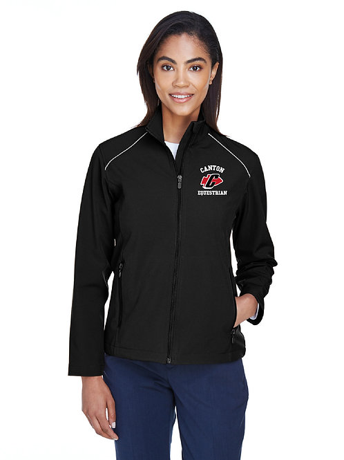 PCEP Equestrian (M780W) Ladies' Soft-Shell Full-Zip Jacket