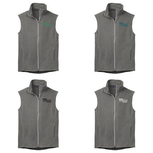Plymouth Library F226 Men's Microfleece Vest