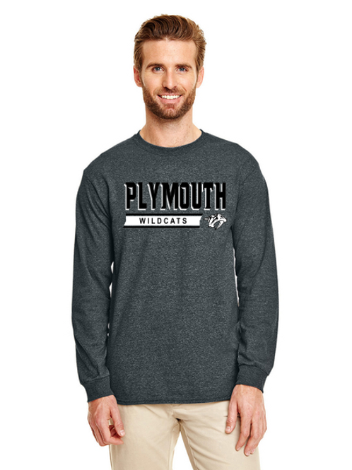 Plymouth G840 Adult 50/50 Long-Sleeve T-Shirt