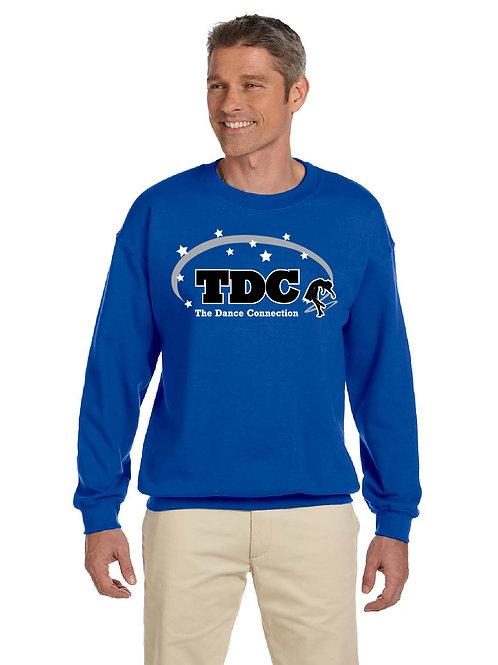 TDC G180 Printed Adult Crew Sweatshirt