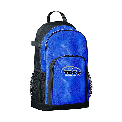 TDC 1106 Embroidered Glitter Backpack