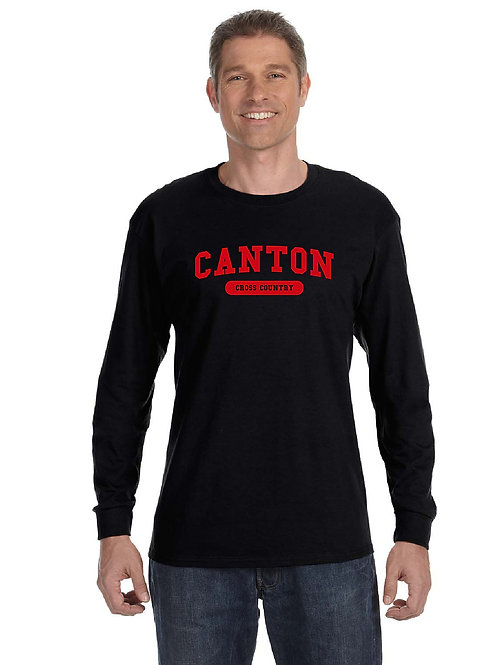 Canton Girl's Cross Country G840 Adult 50/50 Long-Sleeve T-Shirt