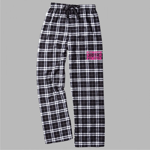 Plymouth Wildcats Pom F20-BWP Flannel Pants