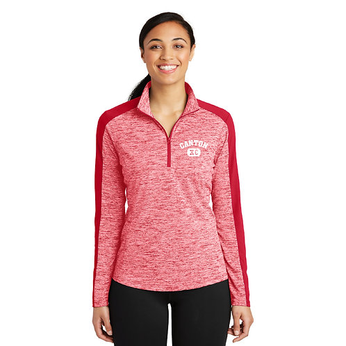 Canton Girl's Cross Country XC LST397 1/4-Zip Pullover