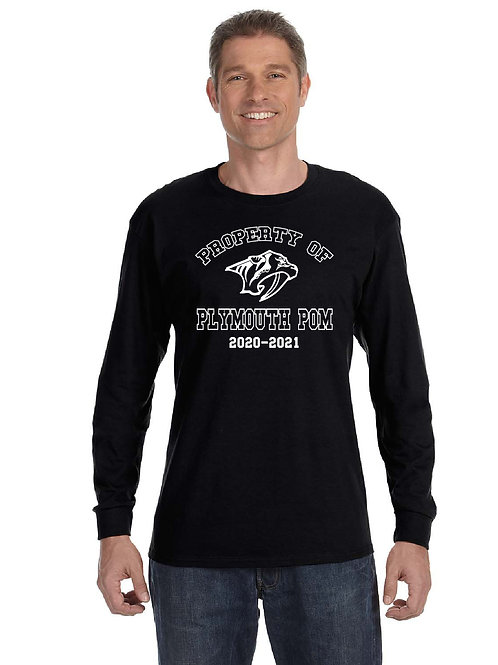 Property of Plymouth Pom G540 Long-Sleeve T-Shirt