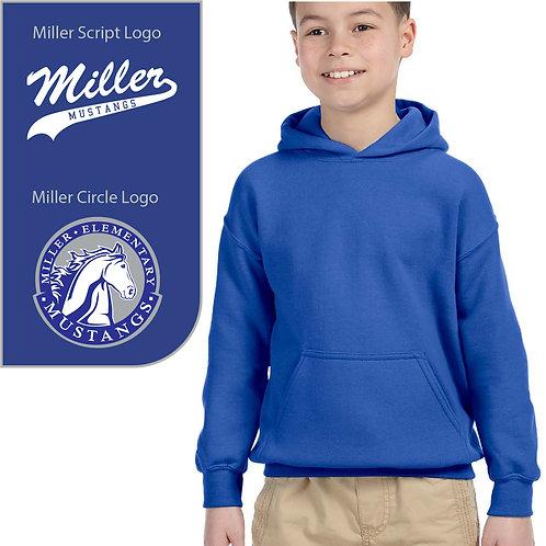 Miller Mustangs G185 Youth Hoodie ($25.00-$31.00)
