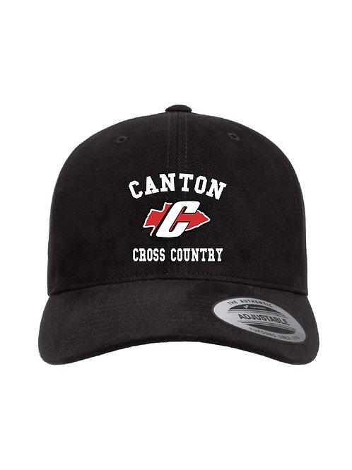 Embroidered Canton Girl's Cross Country 6363V Baseball Cap