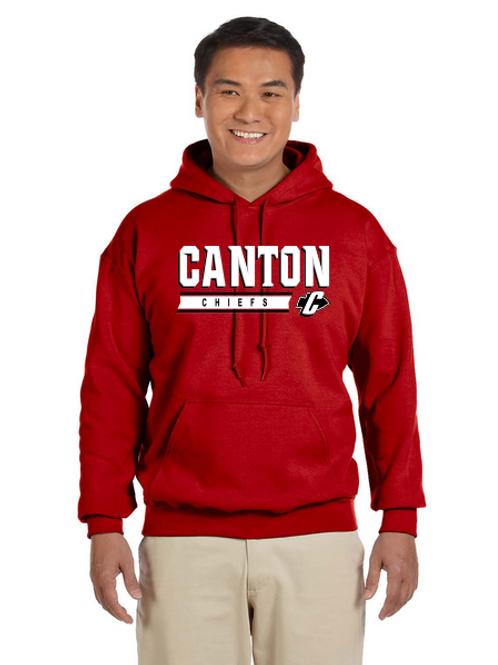 Canton G185 Adult Heavy Blend 50/50 Hoodie