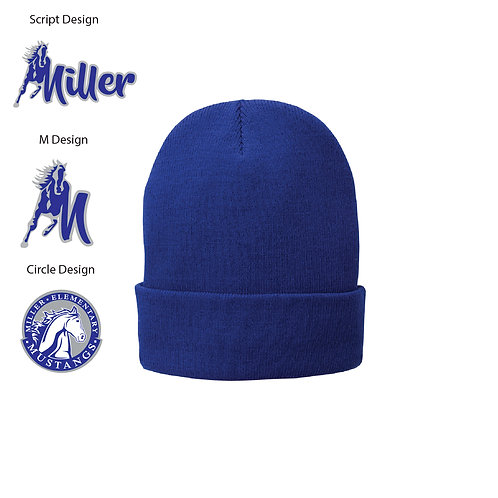 Embroidered Miller CP90L Knit Cap