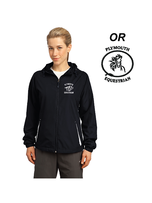 LST76 Plymouth Ladies Hooded Jacket