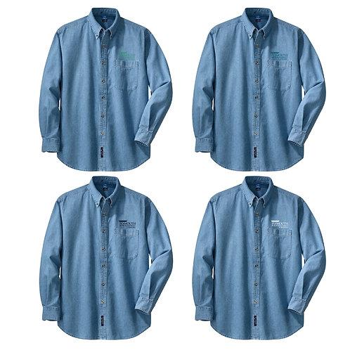 Plymouth Library SP10 Long Sleeve Denim Shirt