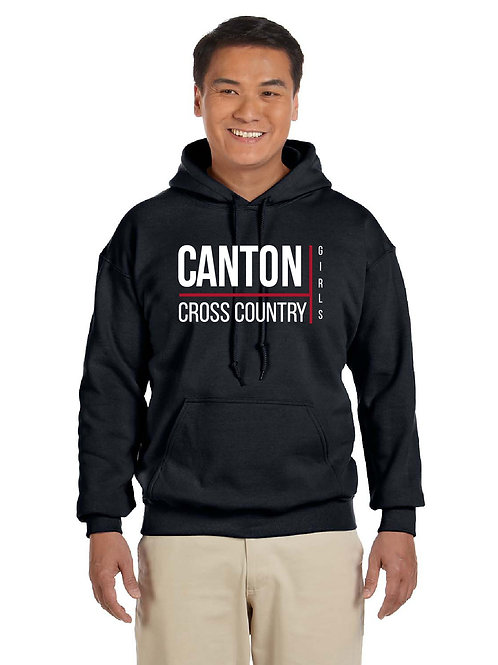 Canton Girl's Cross Country G185 50/50 Hoodie