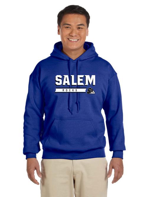 Salem G185 Adult Heavy Blend 50/50 Hoodie