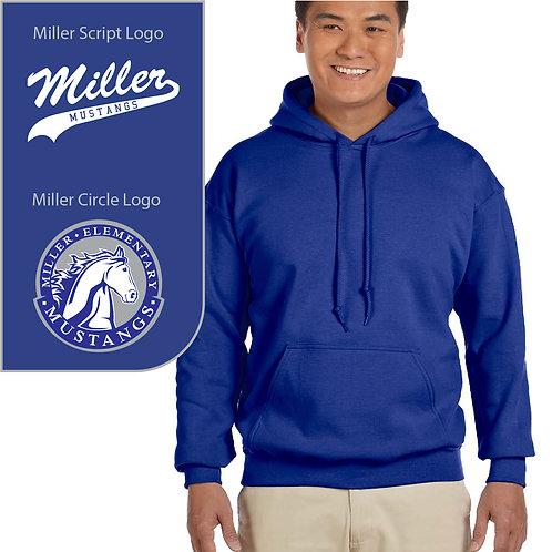 Miller Mustangs G185 Adult Hoodie ($25.00-$43.00)