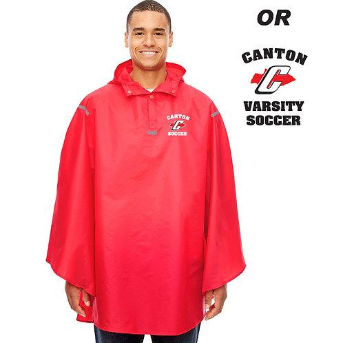 Canton Girl's Soccer TT71 Rain Poncho