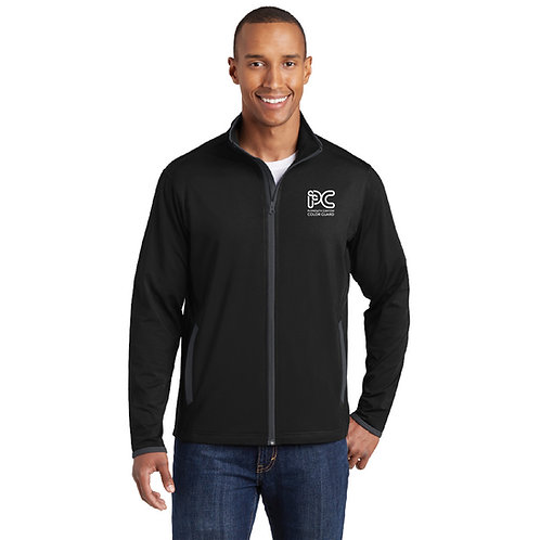 Embroidered Plymouth Canton Color Guard ST853 Men's Full-Zip Warmup Jacket